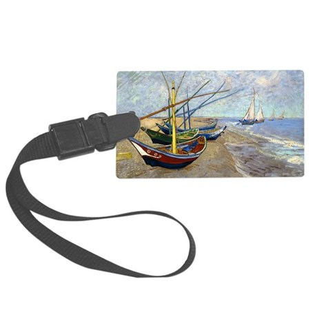 Coin VG Boats Large Luggage Tag