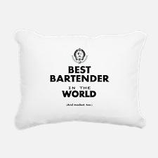 The Best in the World – Bartender Rectangular Canv