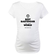 The Best in the World – Bartender Shirt