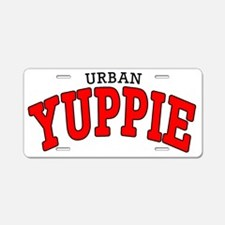 Urban Yuppie Varsity Aluminum License Plate