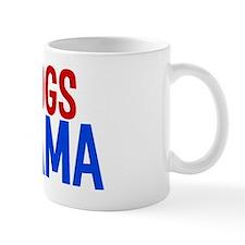 dogsforobamawh Small Mug