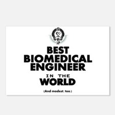 The Best in the World – Biomedical Engineer Postca