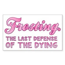 Frosting Decal