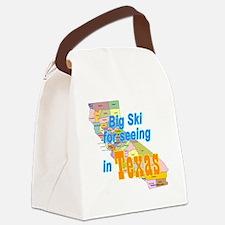 Big_Ski_Texas Canvas Lunch Bag