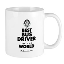 The Best in the World – Bus Driver Mugs