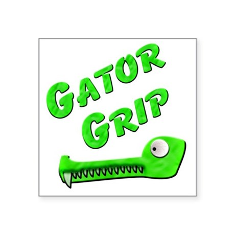 "Gator Grip Square Sticker 3"" x 3"""