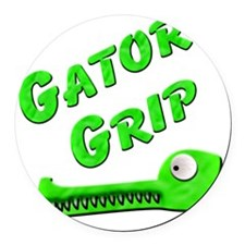 Gator Grip Round Car Magnet