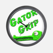 Gator Grip Wall Clock