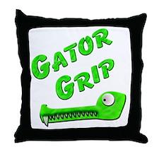 Gator Grip Throw Pillow