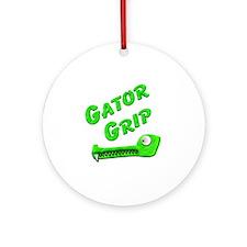 Gator Grip Round Ornament