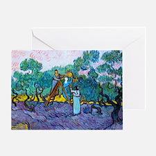 Bag VG Olives Greeting Card