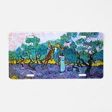Bag VG Olives Aluminum License Plate