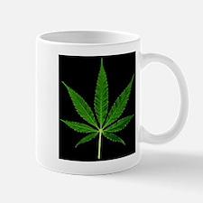 Black Marijuana Plant Mugs