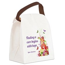 Flourishes Canvas Lunch Bag