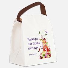 Flourishes Canvas Lunch Bag