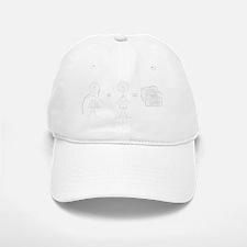 HG shirt 1-white Baseball Baseball Cap