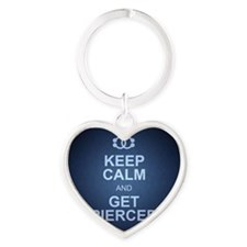 KEEPCALMNEW Heart Keychain