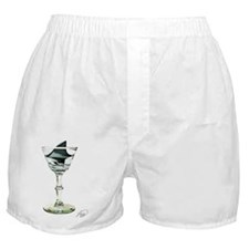 SHARK FIN MARTINI Boxer Shorts