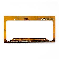TGGoldclutchbag License Plate Holder