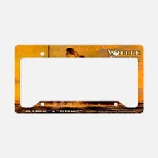 TGGoldclutchbag License Plate Holder