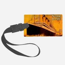 TGGoldplain8x10 Luggage Tag