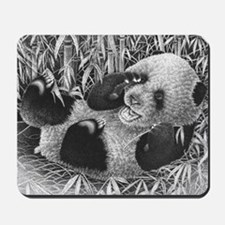 Giant Panda Cub Puzzle Mousepad