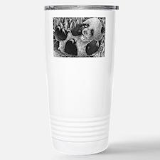Giant Panda Cub Puzzle Stainless Steel Travel Mug