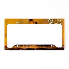 TGgoldcoinbag License Plate Holder