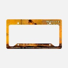 TGgoldminiwallet-b License Plate Holder