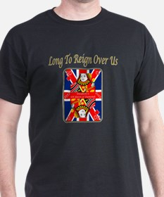 Queens Jubilee Card Reign Over Us T-Shirt