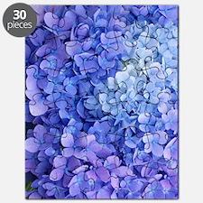 blue hydrangea cloned vert Puzzle