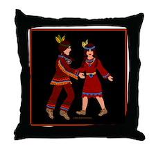 toteflannelmoowismaiden Throw Pillow
