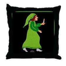 toteflannelsbnwinnkeeper Throw Pillow