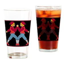 toteflannelslazyjack Drinking Glass