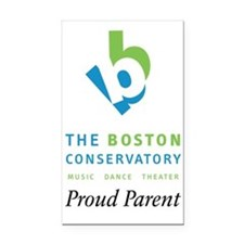 Proud Parent Logo Rectangle Car Magnet