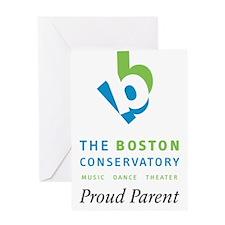 Proud Parent Logo Greeting Card