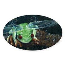 Wishing Frog II Decal