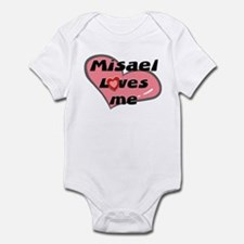 misael loves me  Infant Bodysuit