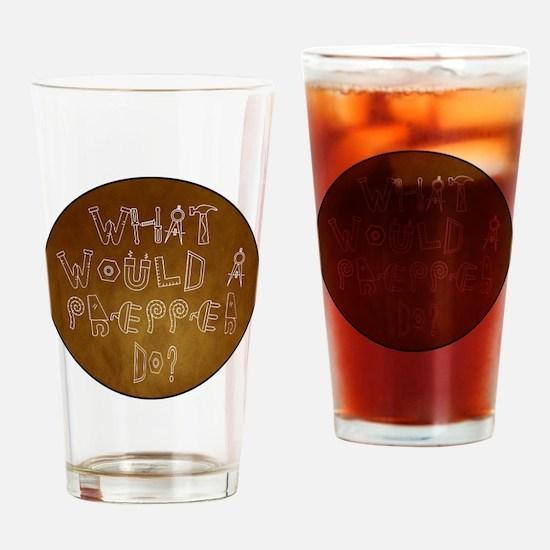 prepper1sq Drinking Glass