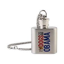 dogsforobamasigg Flask Necklace