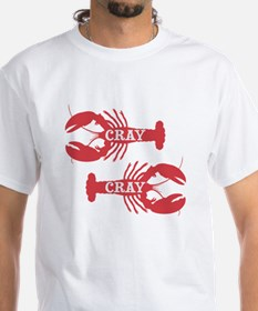 That Cray Cray Crayfish Crustacean T-Shirt