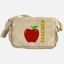 God, Teachers, apples Messenger Bag