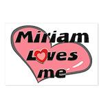 miriam loves me  Postcards (Package of 8)