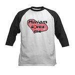 miriam loves me Kids Baseball Jersey