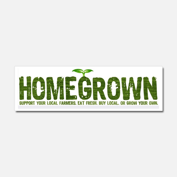 Homegrown Car Magnet 10 x 3