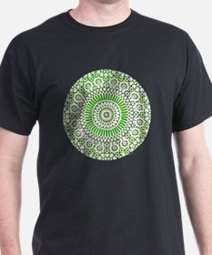 cp mosaic circle green T-Shirt