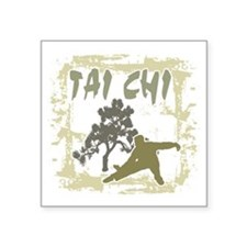 "tai66dark Square Sticker 3"" x 3"""