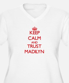 Keep Calm and TRUST Madilyn Plus Size T-Shirt