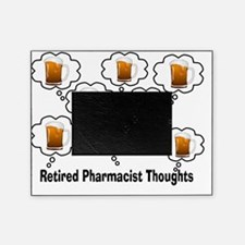 Retired Pharmacist Thoughts BEER Picture Frame