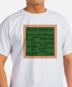 TrackFieldSquare T-Shirt